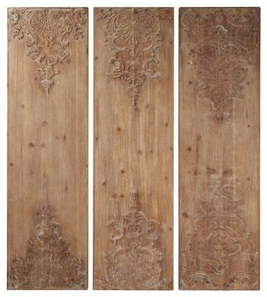 Wall Decor Wooden Wall Art 3 Piece Wooden Wall Decor By Uma Enterprises Inc At Howell Furniture