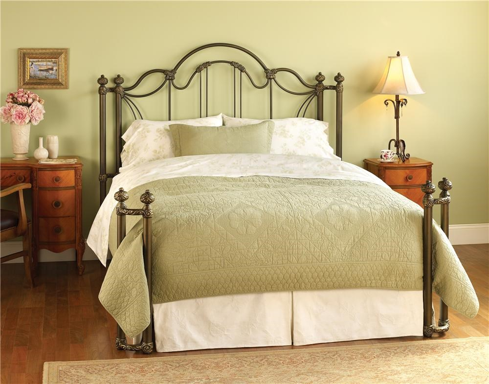 Metal Bed Headboards Iron Beds Queen Marlow Headboard And Open Footboard Bed With
