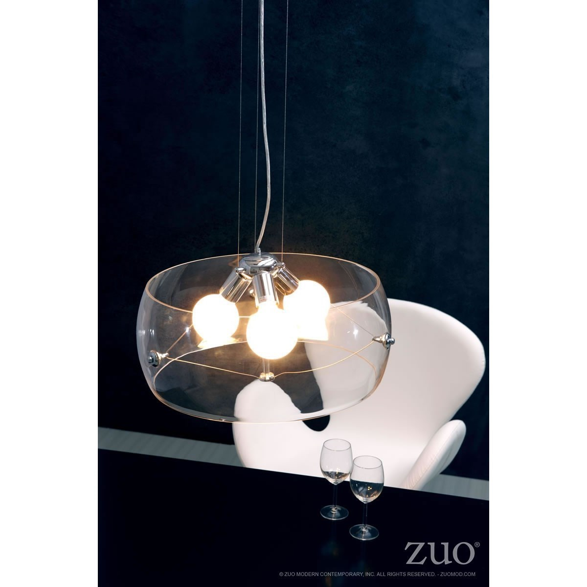 Lights Ceiling Pure Lighting Asteroids Ceiling Lamp Clear By Zuo At Royal Furniture