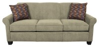 England Angie Casual Rolled Arm Sofa With Accent Pillows ...