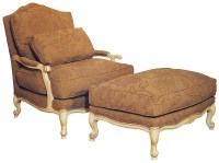 Fairfield Chairs Victorian Lounge Chair & Ottoman Set