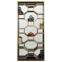 Henredon Celerie Kemble Ravenel Bookcase with Geometric ...