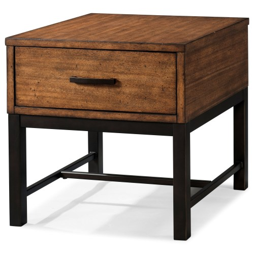 Medium Crop Of Industrial End Table