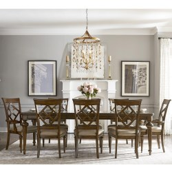 Small Crop Of 9 Piece Dining Set