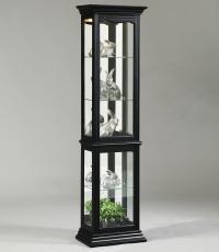 Pulaski Furniture Curios Oxford Black Curio Cabinet - Ivan ...