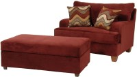 Serta Upholstery by Hughes Furniture 9200 Cuddle Chair and ...