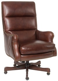 Hooker Furniture Executive Seating Classic Styled Leather ...