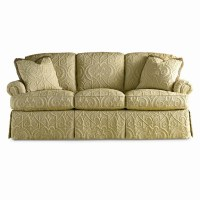Sherrill Traditional Sofa with Loose Back Cushions and ...