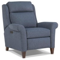 Smith Brothers 729 Casual Motorized Recliner Chair with ...