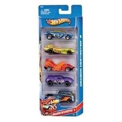 Conjunto Com 5 Carrinhos Hot Wheels Mattel Sortidos