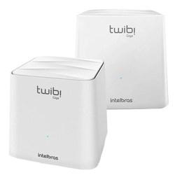 Roteador Wireless Mesh Twibi Giga Intelbras 2 Antenas Internas Dual Band 2 Unidades