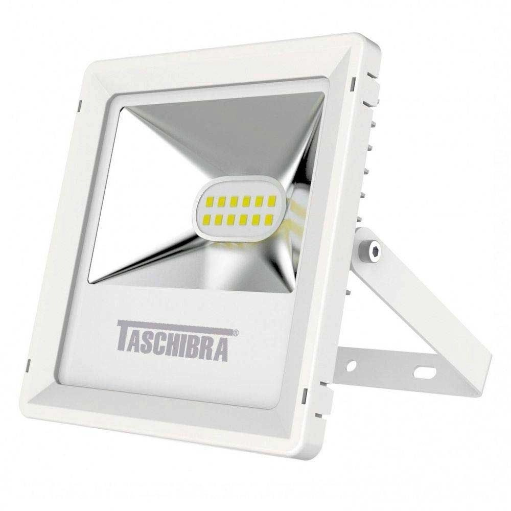 Refletor Led Taschibra 100w Refletor Led Ip65 Tr 10 10w 3000k Branco Taschibra