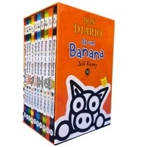 Livro - Box Diário de um banana -10 volumes