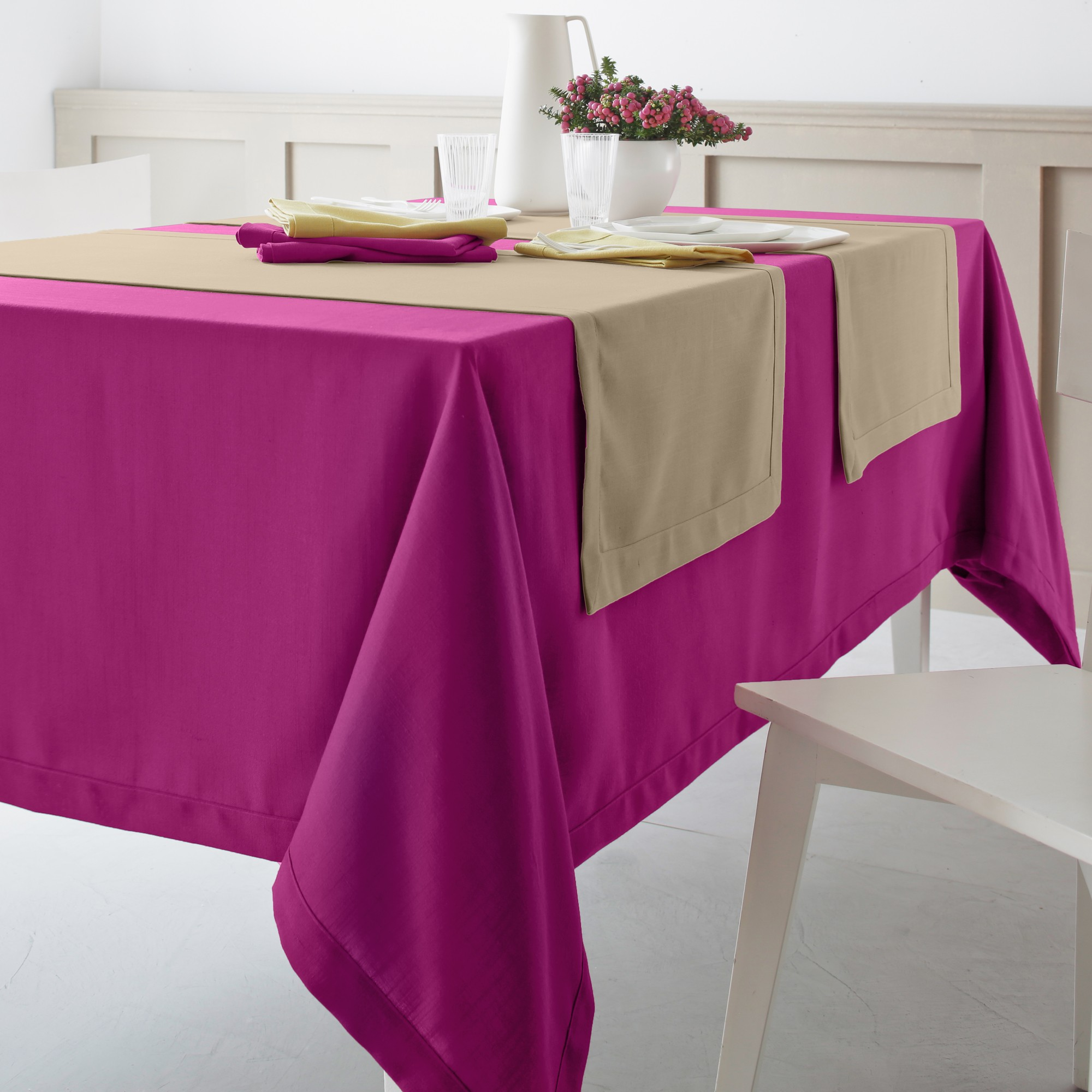 Nappe Rectangulaire Grande Taille Nappe Ovale Grande Taille