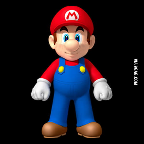 Cute Guy Iphone Wallpaper Mario Without Mustache Is Toally Another Guy 9gag