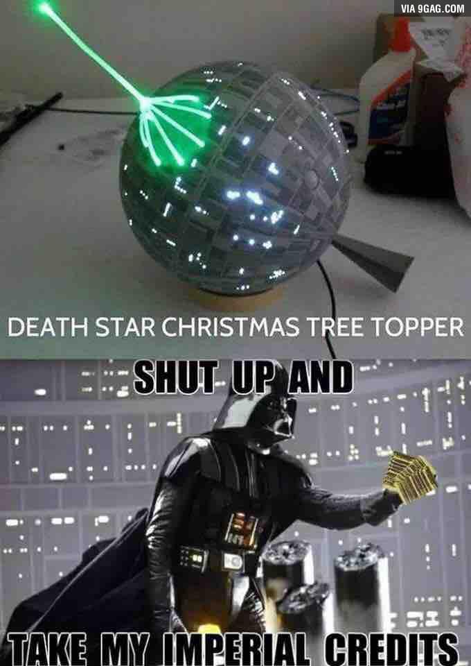 German Car Wallpaper Star Wars Christmas Tree Topper 9gag
