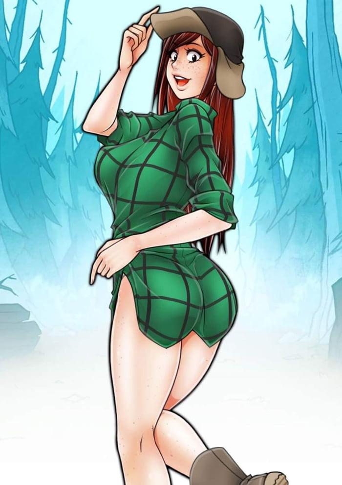 Gravity Falls Ios Wallpaper Thicc Wendy 9gag