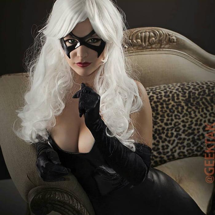 Anime Girl With Glasses Wallpaper Danielle Pavluk As Black Cat 9gag