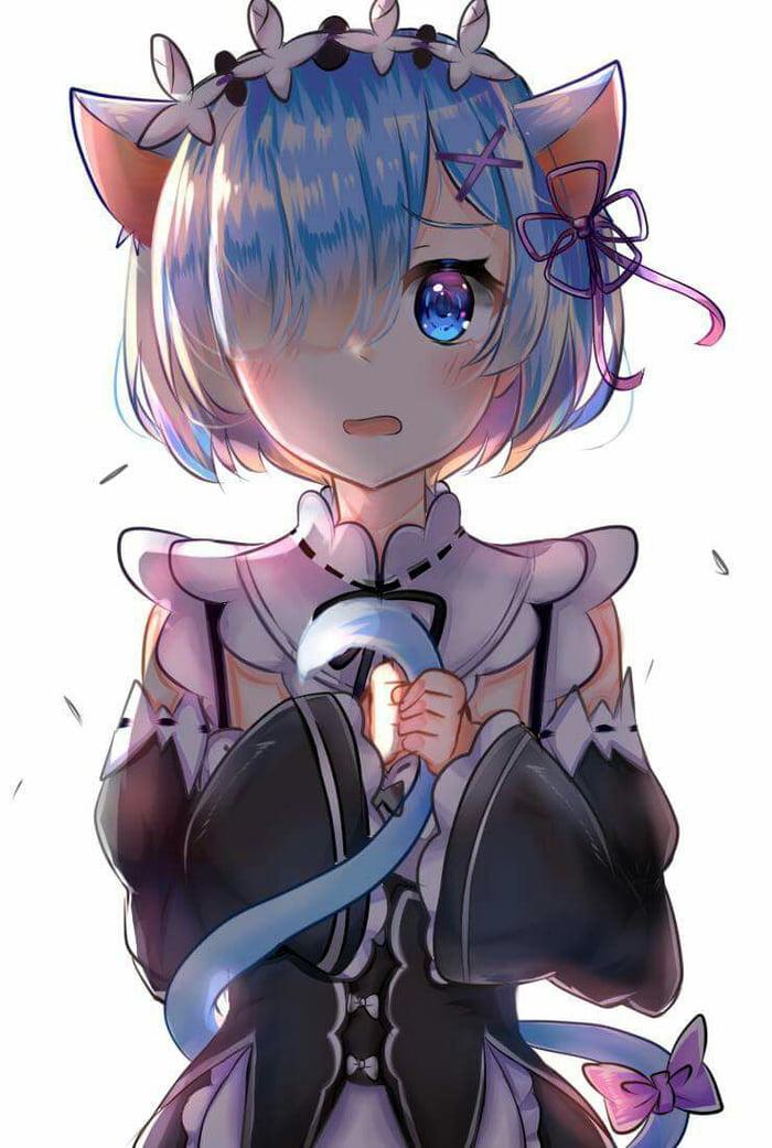 Nier Automata Cute Wallpaper Android Cute Neko Rem Is Cute 9gag