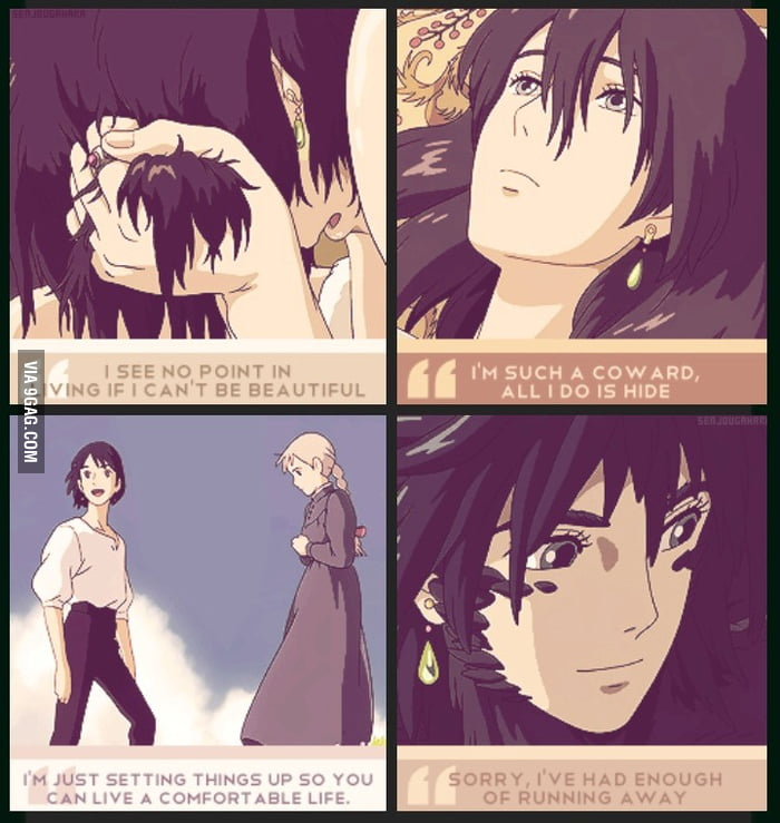 Howl\u0027s Moving Castle quotes - 9GAG