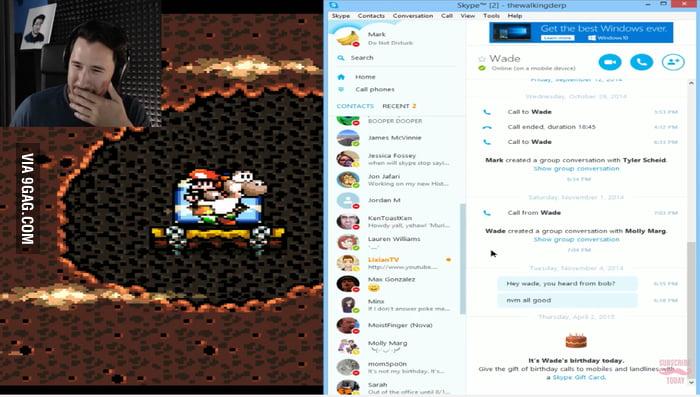 Live Girl Wallpaper For Pc Markiplier Accidentally Reveals His Skype On Live Stream