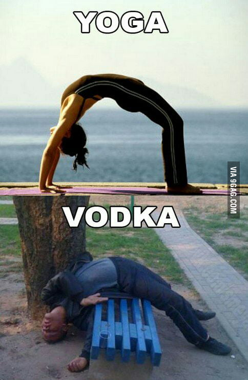 Girl Studying Wallpaper Yoga Vodka 9gag