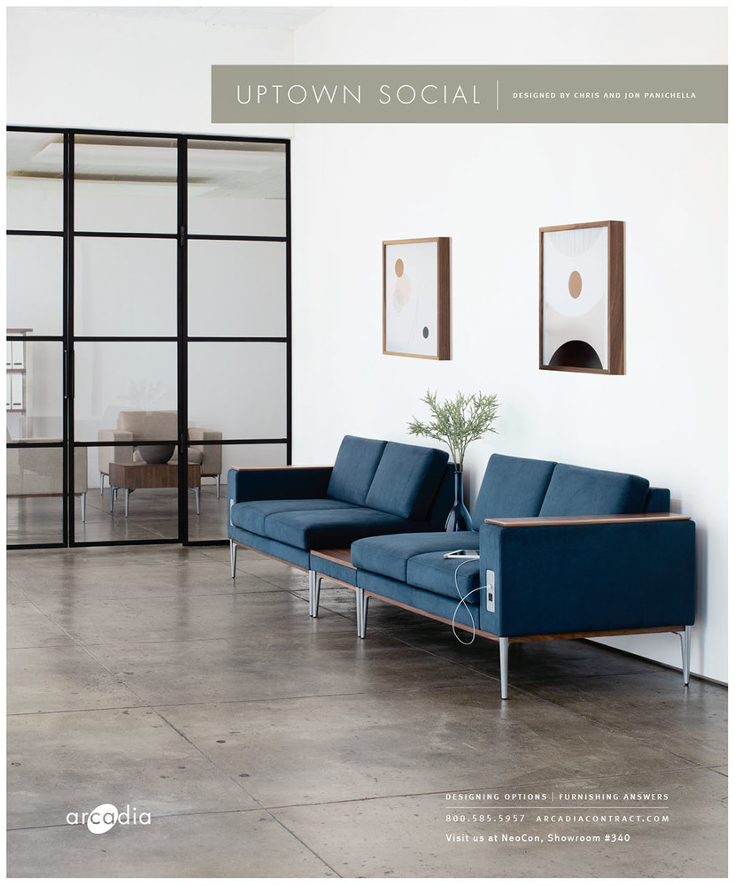 Interiors And Sources May 2019 Neocon Preview - Florentine Plaster Benjamin Moore