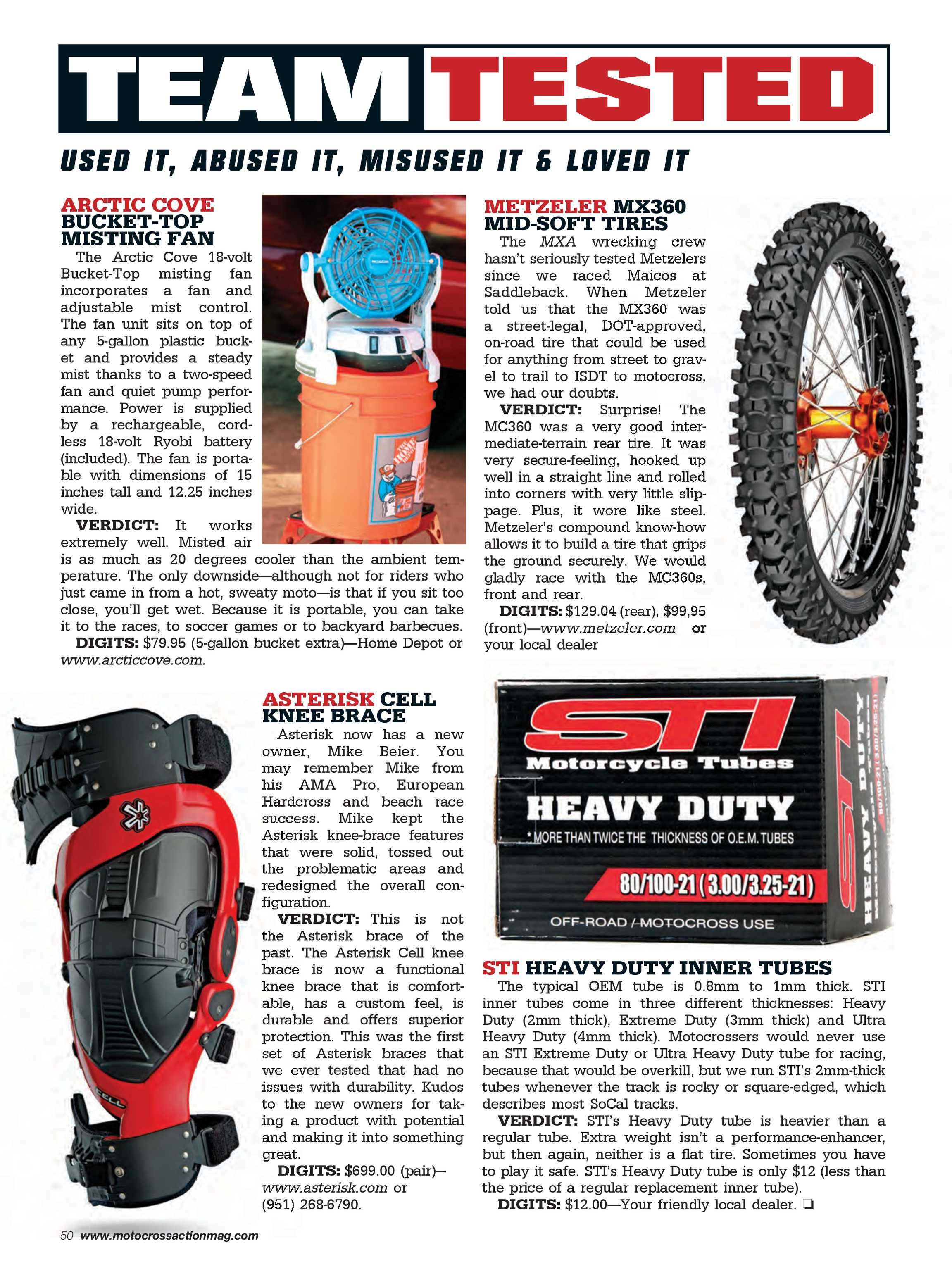50 Zu 50 Motocross Action Magazine November 2017 Page 50