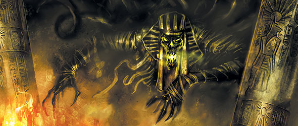 Wallpaper Her 3d The Dark Pharaoh Fantasy Flight Games