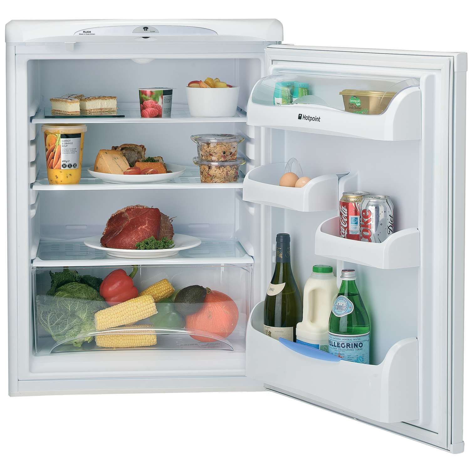Kuche Bar Fridge Review Hotpoint Rla36p A 43 Rated 146 Litres Under Counter Larder
