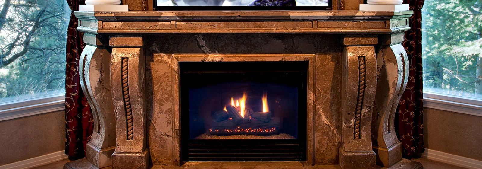 Fireplace Mantel Parts Fireplaces Fireplace Mantels