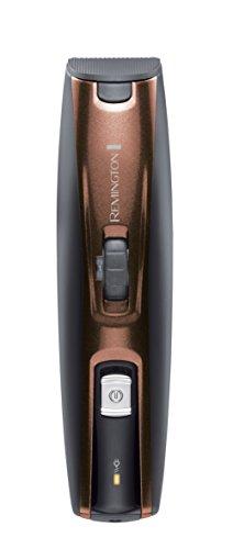 Remington Beard Kit - Kit barbas inalámbrico, cuchillas autoafilables revestidas de titanio, cortapatillas extensible, 3 tipos de peine