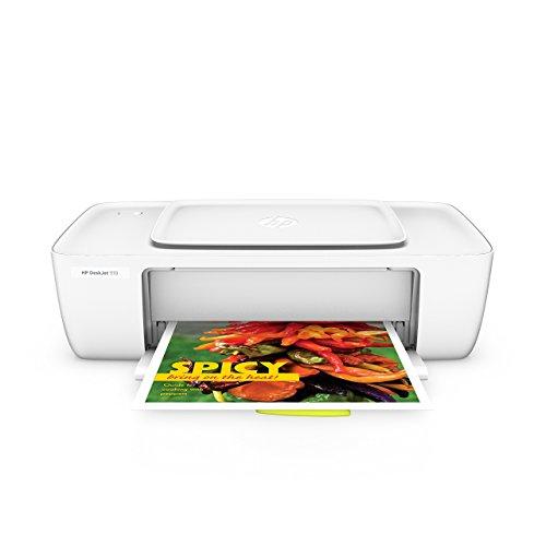 HP Deskjet 1110 (F5S20B) Tintenstrahldrucker (A4 Drucker, Hi-Speed 2.0, 4.800 x 1.200 dpi) weiß