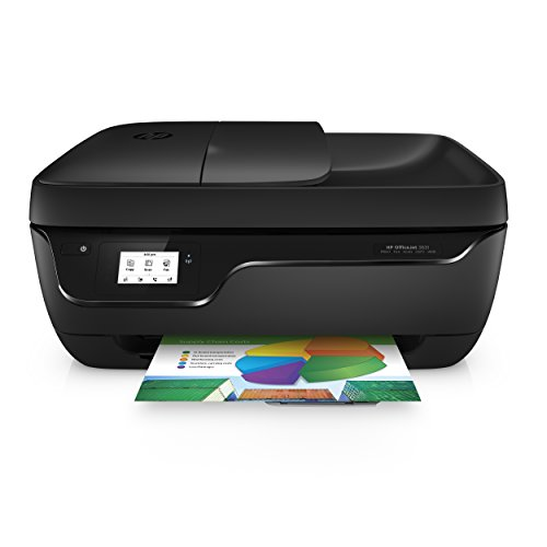 HP Officejet 3831 Multifunktionsdrucker (Drucker, Kopierer, Scanner, Fax, WLAN, Airprint) mit 3 Probemonaten HP Instant Ink inklusive