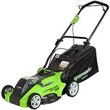 Greenworks Tools 2500007 - Cortacésped (40 V, funciona con batería, ancho de corte: 40 cm, sin batería ni cargador)