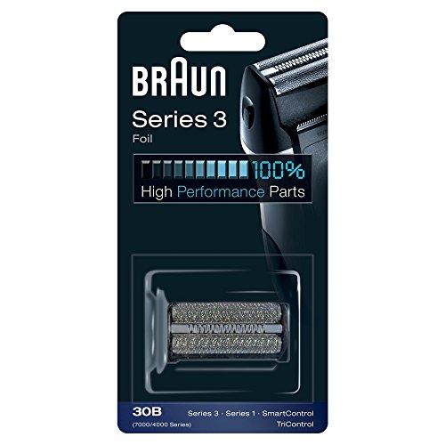 Braun - Láminas 30B - Láminas de recambio para afeitadoras de generaciones antiguas Series 3/Syncro/SmartControl3/Tricontrol