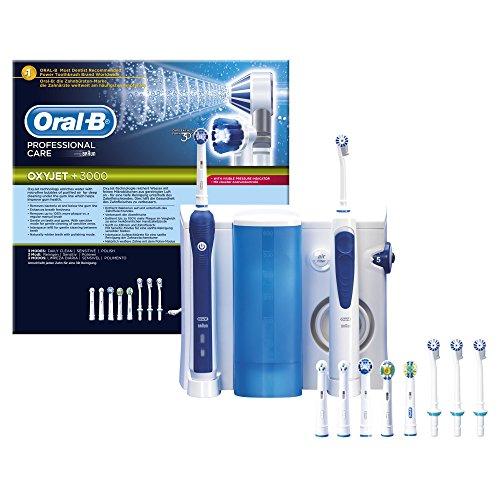 Oral-B Professional Care OxyJet - Estación y cepillo de dientes eléctrico
