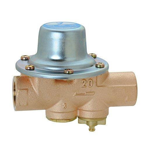 ヨシタケ 水道用減圧弁 一般用 標準設定圧力80KPa ねじ込み接続 接続口径20A 本体CAC 最高温度60℃ 型式GD-56-80 20A