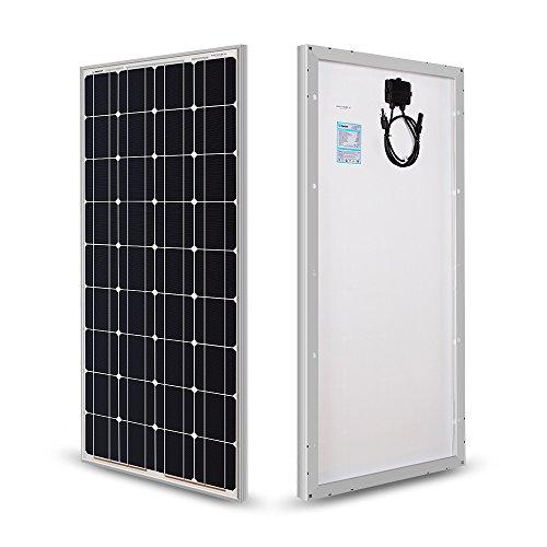 RENOGY 100W 12V高効率単結晶ソーラーパネル太陽光パネル
