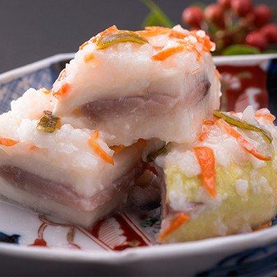土づくりからはじめ加賀野菜は健康そのもの 自然の恵みと伝統の技が生みだした発酵食品・かぶら寿し大根寿し詰合せセット 旭漬物・石川県