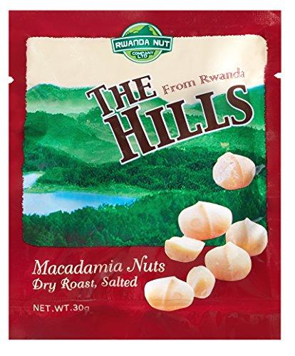 ヒルズマカデミアナッツ ドライロースト塩味30g 5袋セット(THE HILLS from Rwanda)