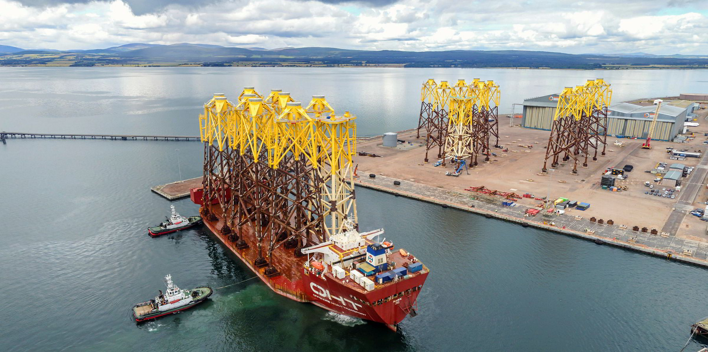 Spiegel De4 Significant Risk' Scotland's Ports Won't Be Fit For Offshore Wind Build | Recharge