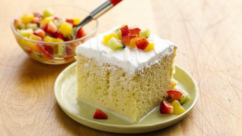 Premium Tres Leches Cake Recipe Bettycrockercom