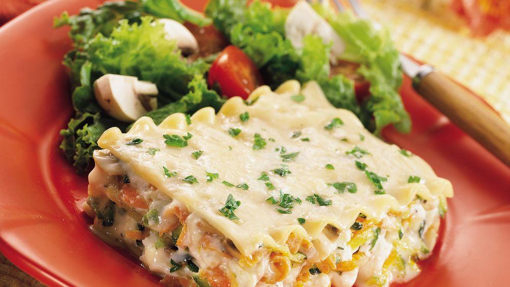 Shortcut Vegetable Lasagna Recipe - Pillsbury.Com