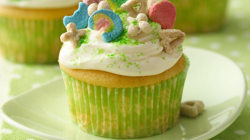 Lucky Charmsr Cupcakes Recipe Tablespooncom
