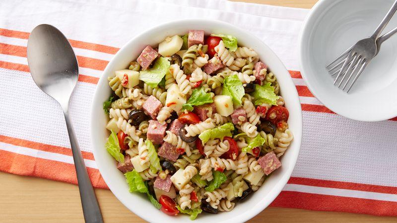 Quick Antipasto Pasta Salad Recipe Bettycrockercom