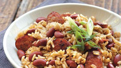 Cajun Red Beans and Rice Recipe - BettyCrocker.com
