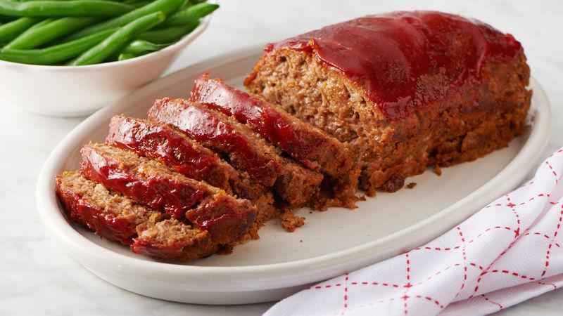 Home-Style Meatloaf Recipe - BettyCrocker