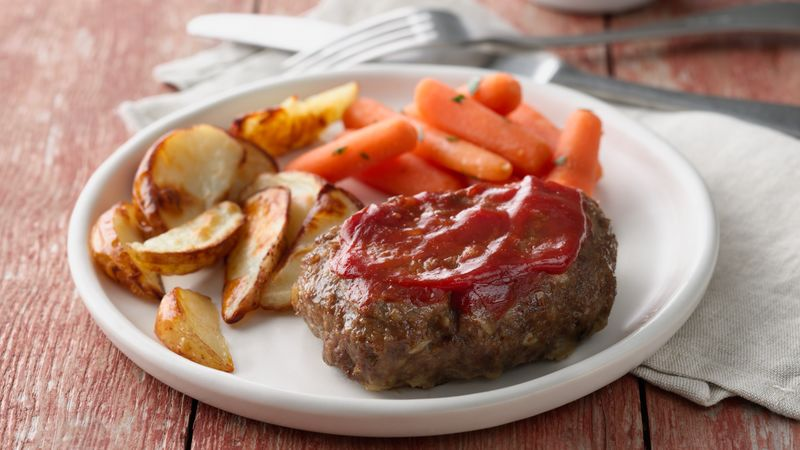 Grilled Meatloaf Dinner Foil Packs Recipe - BettyCrocker