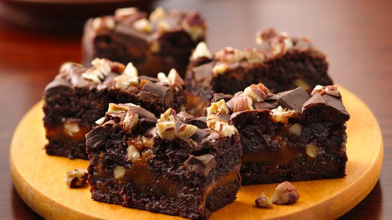 Ultimate Turtle Brownies Recipe Bettycrockercom